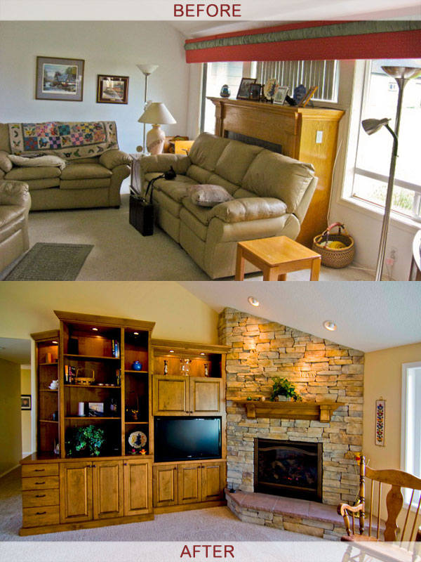 fireplace_entertainmentcenter_beforeafter